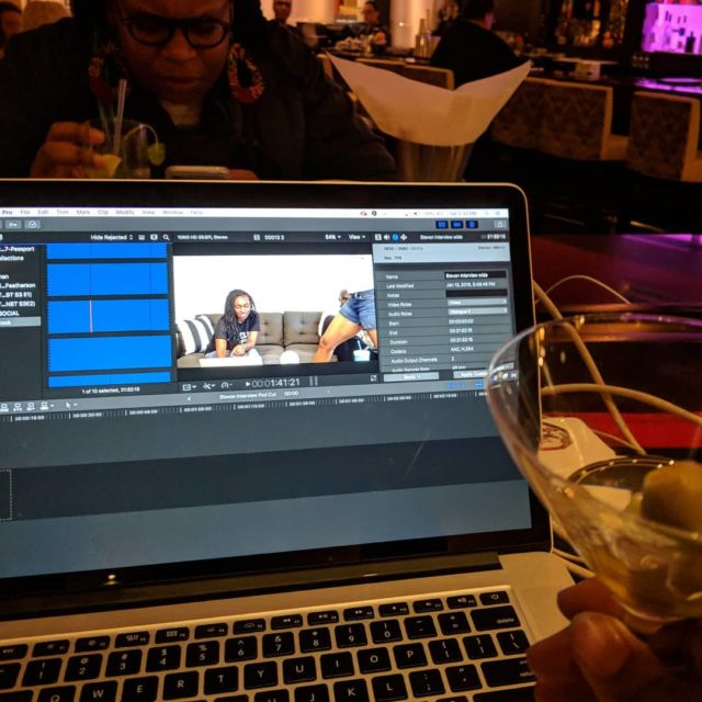 Editing writing making  in between sfsketchfest shows